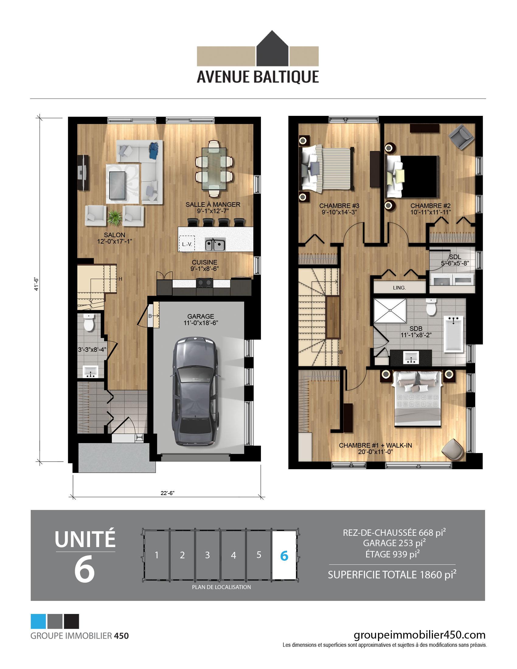 Plan plancher 6